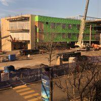 Cardiovascular & Critical Care Pavilion construction 1.11.19