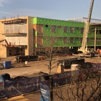 Cardiovascular & Critical Care Pavilion construction 1.11.19