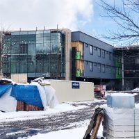 Cardiovascular & Critical Care Pavilion construction 3.4.19